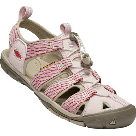 Keen Clearwater CNX - Sandales Femme - rouge/blanc